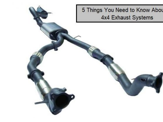 5 Things You Need to Know About 4x4 Exhaust Systems